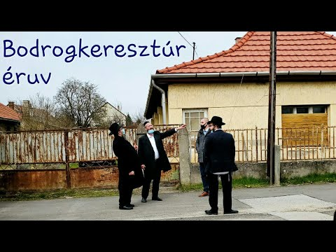 """290 Mi a """"szombat-zsinór""""? – Oberlander Báruch (Éruv Magyarországon csak Bodrogkeresztúron van)"""