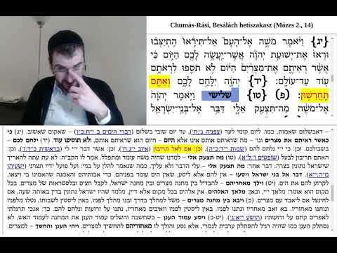 Chumás-Rási, Besálách 4. (14:12-20)