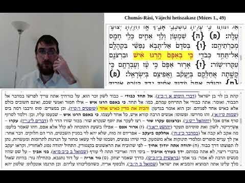 Chumás-Rási, Vájechi 6. (49:6-7)