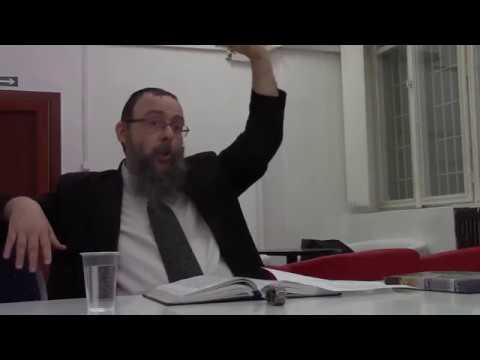Oberlander Báruch Kabbalisztikus széder előadása