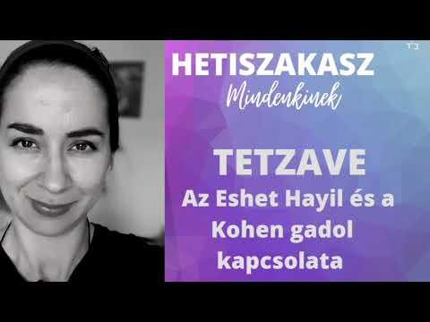 Az Eset Hayil és a Kohén Gádol kapcsolata (Tetzave)