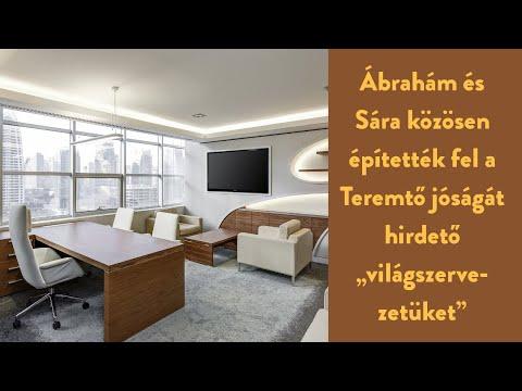 Tórai Gyorstalpaló #4 – Ábrahám és Sára. Egy jótékonysági szervezet felépítése