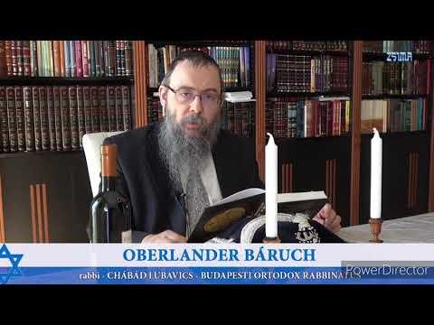 395 Egy egész év munka nélkül? – Oberlander Báruch (a Föld Szombatja, minden hetedik év Semita év)